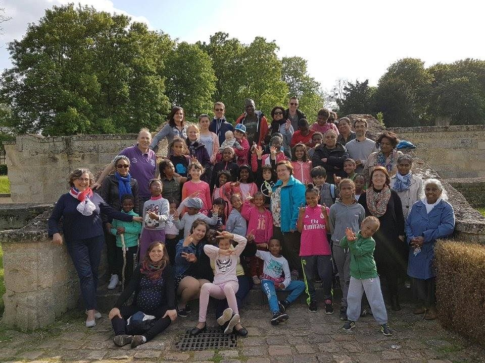 Photo de groupe de la folle journée à Maubuisson