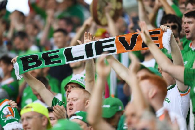 Irish fans believe